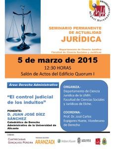 SEMINARIO PERMANENTE Control judicial